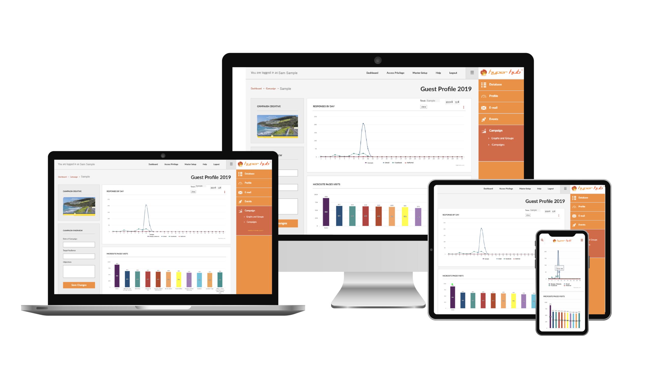 Hyper Hub Campaign Module Screenshot